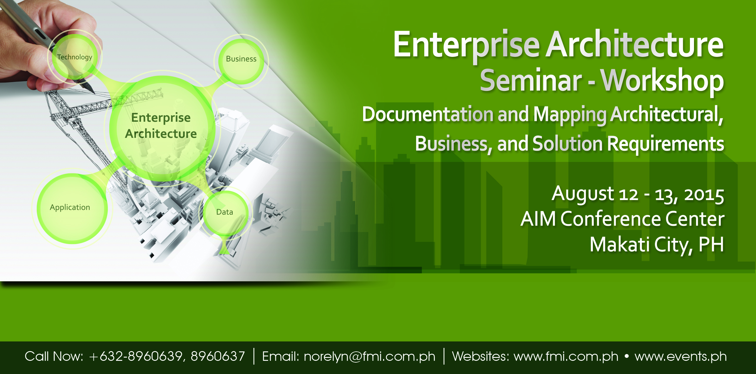 Enterprise Architecture Seminar 2015