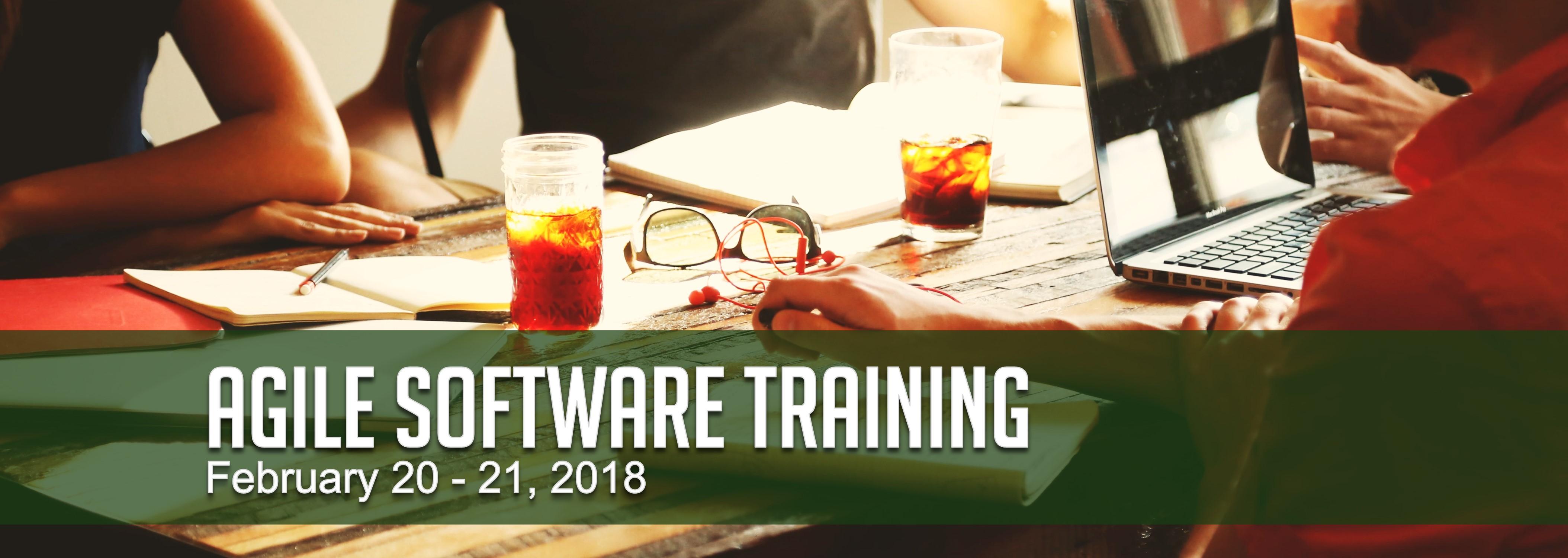 Agile Software Training on February 20 - 21, 2018
