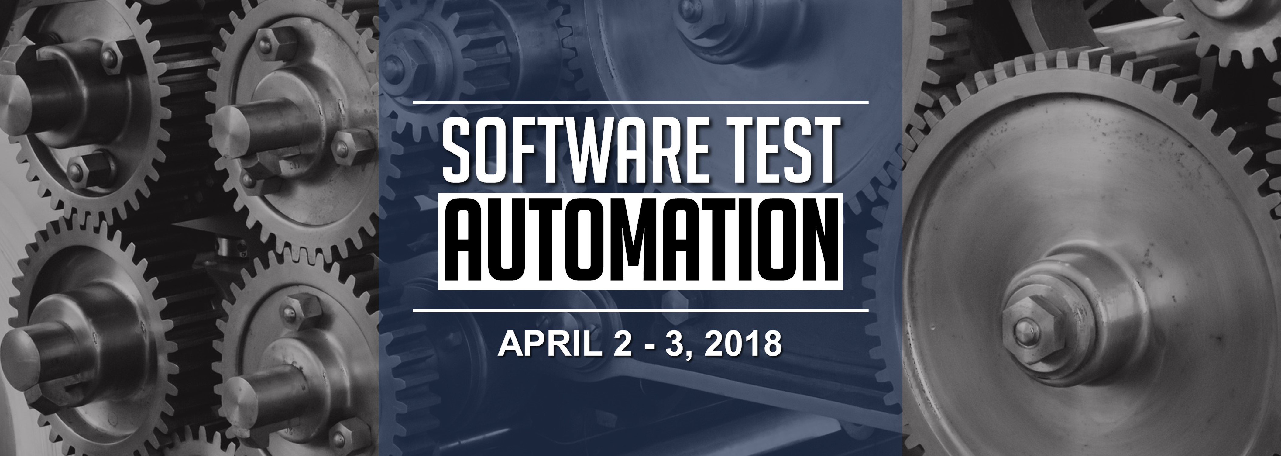 Software Test Automation on April 2 - 3, 2018